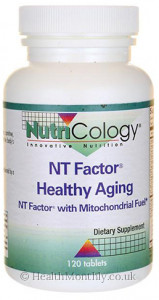 Nutricology Allergy Research NT Factor Healthy Aging with Mitochondrial Fuel