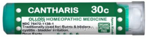 Ollois Homeopathic Medicine Cantharis