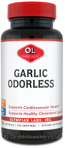 Olympian Labs Garlic Odorless