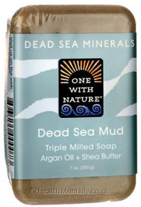 One With Nature Dead Sea Mineral Triple Milled Bar Soap
