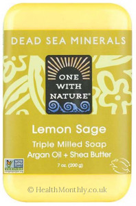 One With Nature Dead Sea Minerals Soap Bar