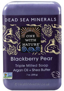 One with Nature Dead Sea Minerals Triple Milled Bar Soap