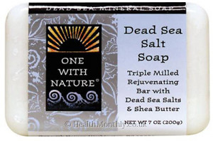 One With Nature Dead Sea Salt Soap with Shea Butter