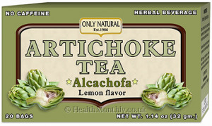 Only Natural Artichoke Tea
