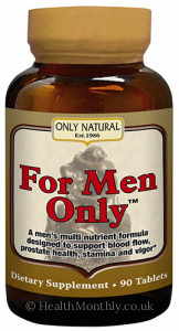 Only Natural For Men Only