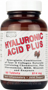 Only Natural Hyaluronic Acid Plus