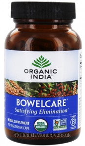 Organic India Bowelcare Satisfying Elimination