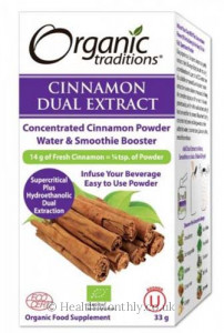 Organic Traditions® Organic Cinnamon Dual Extract