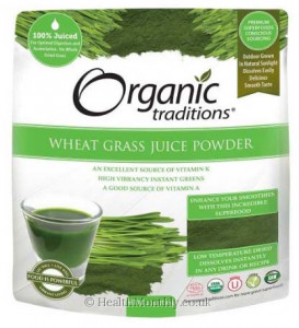 Organic Traditions® Organic Wheat Grass Juice Powder