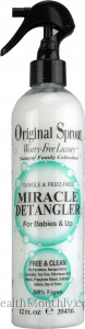 Original Sprout Miracle Detangler 100% Vegan