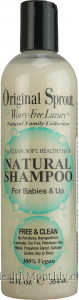Original Sprout Natural Shampoo 100% Vegan