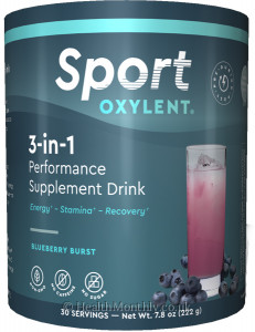 Oxylent Sport 3 in 1 Supplement Drink