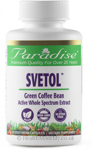 Paradise® Green Coffee Beans with Svetol®