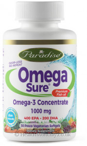 Paradise® Omega-Sure® Fish Oil