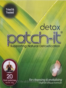Detox Patch It Supporting Natural Detoxification