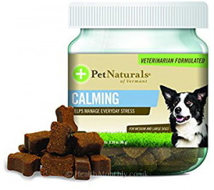 Pet Naturals of Vermont Calming for Medium & Large Dogs