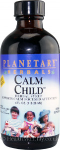 Planetary Herbals Calm Child Herbal Syrup