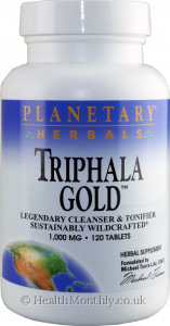 Planetary Herbals Triphala Gold Sustainably Wildcrafted