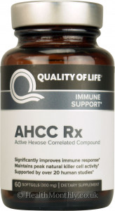 Quality of Life Labs AHCC Rx