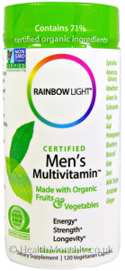Rainbow Light Certified Men's Multivitamin