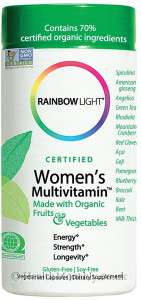 Rainbow Light Certified Organic Women's Multivitamin