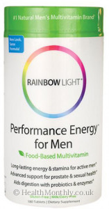 Rainbow Light Performance Energy for Men Multivitamin