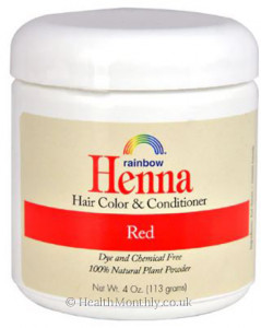 Rainbow Research Henna Color and Conditioner