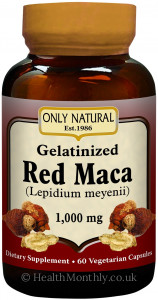 Only Natural Red Maca Gelatinized