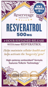 Reserveage Nutrition The Worlds Finest Resveratrol