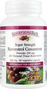 Natural Factors Super Strength Resveratrol Concentrate