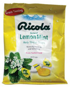 Ricola Natural Herb Throat Drops