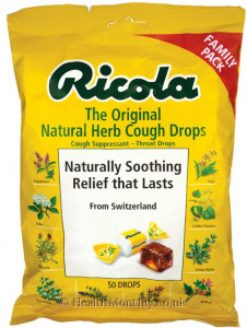 Ricola The Original Natural Herb Cough Drops