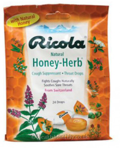Ricola Throat Drops Natural Honey Herb