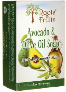 Roots & Fruits Avocado & Olive Oil Soap