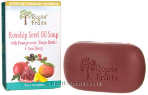 Roots & Fruits Rosehip Seed Oil Soap
