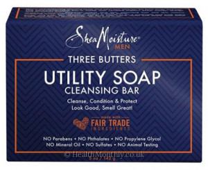 Shea Moisture Three Butters Utility Soap Cleansing Bar