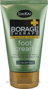 Shikai Borage Therapy Foot Cream