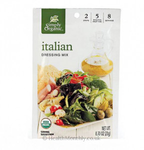 Simply Organic Ranch Italian Salad Dressing Mix