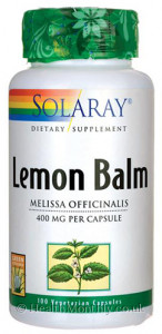 Solaray Lemon Balm