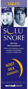Solusnore Anti-snoring Tablets