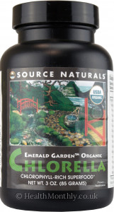 Source Naturals Emerald Garden Organic Chlorella