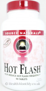 Source Naturals Hot Flash Non GMO Soy