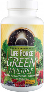 Source Naturals Life Force Green Multiple Energy Activator
