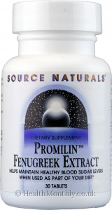 Source Naturals Promilin Fenugreek Extract