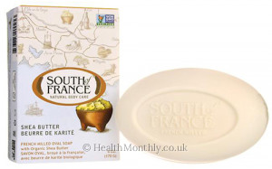South of France French Milled Oval Soap
