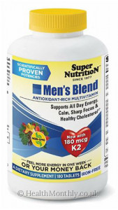Super Nutrition Men's Blend Antioxidant Rich Multivitamin