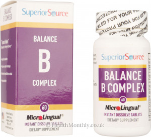 Superior Source Shot Balance B Complex Extra Folic Acid & Biotin