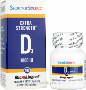 Superior Source Extra Strength Vitamin D3