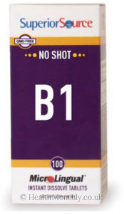 Superior Source No Shot Vitamin B1