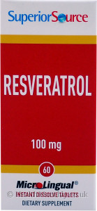 Superior Source Resveratrol 100 mg